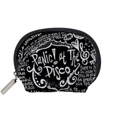 Panic ! At The Disco Lyric Quotes Accessory Pouches (Small)