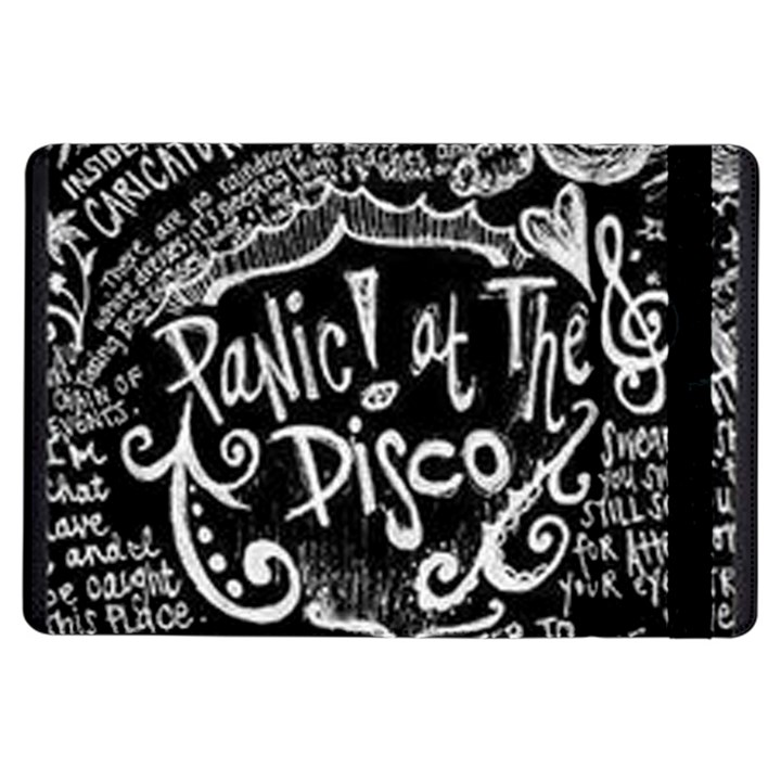 Panic ! At The Disco Lyric Quotes iPad Air Flip
