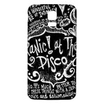 Panic ! At The Disco Lyric Quotes Samsung Galaxy S5 Back Case (White) Front