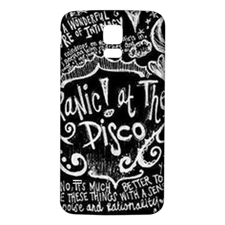 Panic ! At The Disco Lyric Quotes Samsung Galaxy S5 Back Case (White)