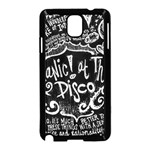 Panic ! At The Disco Lyric Quotes Samsung Galaxy Note 3 Neo Hardshell Case (Black) Front