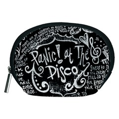 Panic ! At The Disco Lyric Quotes Accessory Pouches (Medium)