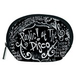 Panic ! At The Disco Lyric Quotes Accessory Pouches (Medium)  Front
