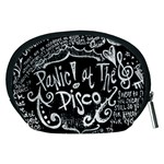 Panic ! At The Disco Lyric Quotes Accessory Pouches (Medium)  Back