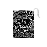 Panic ! At The Disco Lyric Quotes Drawstring Pouches (Small)  Front