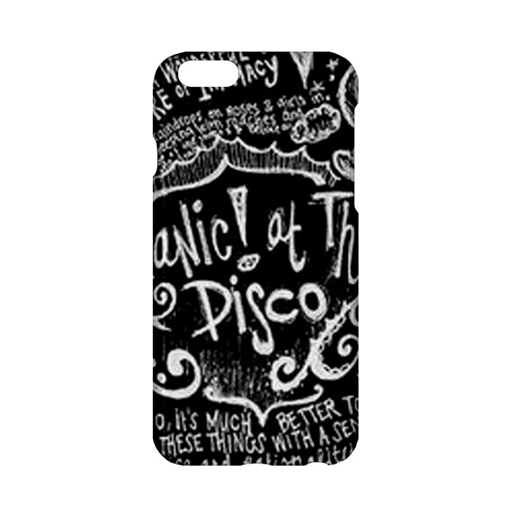 Panic ! At The Disco Lyric Quotes Apple iPhone 6/6S Hardshell Case