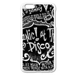 Panic ! At The Disco Lyric Quotes Apple iPhone 6 Plus/6S Plus Enamel White Case Front