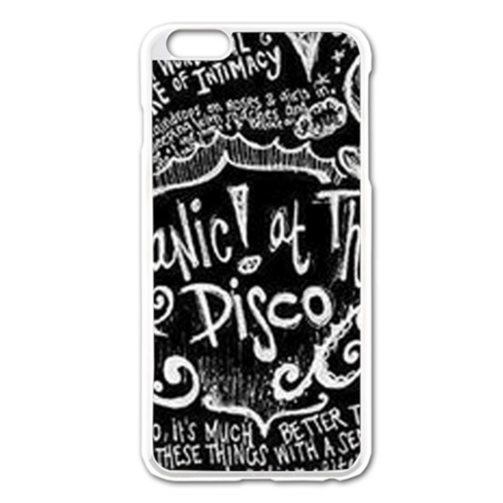 Panic ! At The Disco Lyric Quotes Apple iPhone 6 Plus/6S Plus Enamel White Case