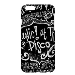 Panic ! At The Disco Lyric Quotes Apple Iphone 6 Plus/6s Plus Hardshell Case
