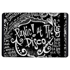Panic ! At The Disco Lyric Quotes iPad Air 2 Flip