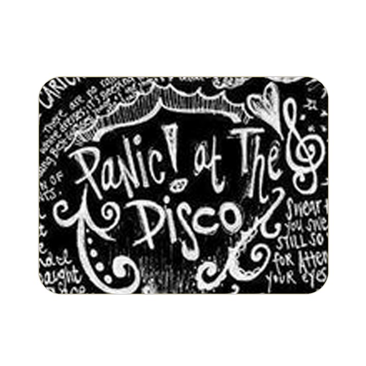 Panic ! At The Disco Lyric Quotes Double Sided Flano Blanket (Mini)