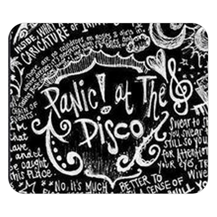 Panic ! At The Disco Lyric Quotes Double Sided Flano Blanket (Small)