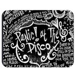 Panic ! At The Disco Lyric Quotes Double Sided Flano Blanket (Medium)  60 x50 Blanket Back