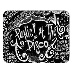 Panic ! At The Disco Lyric Quotes Double Sided Flano Blanket (large)