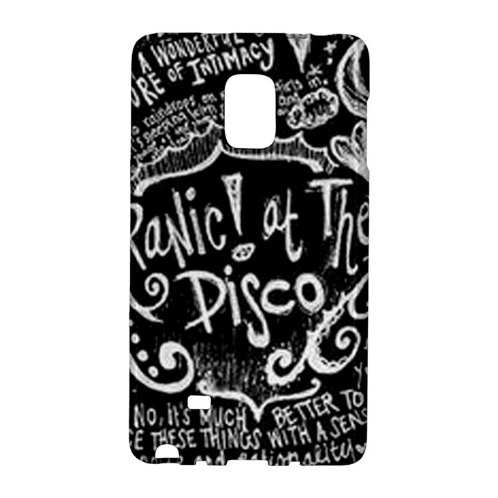 Panic ! At The Disco Lyric Quotes Galaxy Note Edge