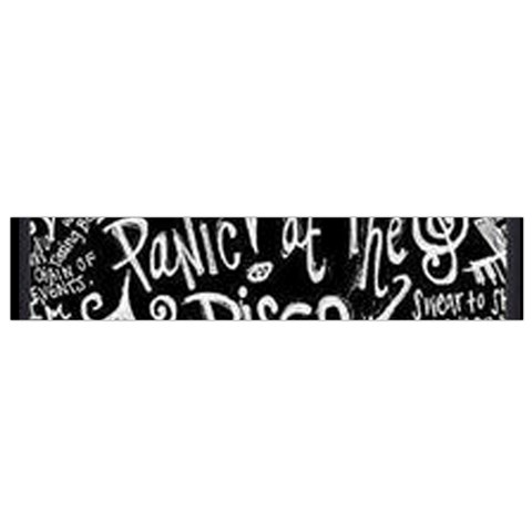 Panic ! At The Disco Lyric Quotes Flano Scarf (Small)