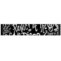Panic ! At The Disco Lyric Quotes Flano Scarf (large)