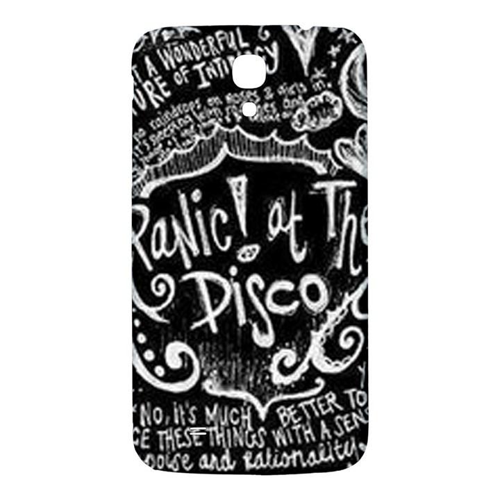 Panic ! At The Disco Lyric Quotes Samsung Galaxy Mega I9200 Hardshell Back Case