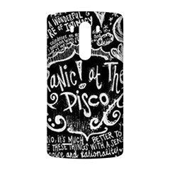 Panic ! At The Disco Lyric Quotes LG G3 Back Case