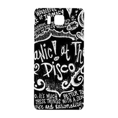 Panic ! At The Disco Lyric Quotes Samsung Galaxy Alpha Hardshell Back Case