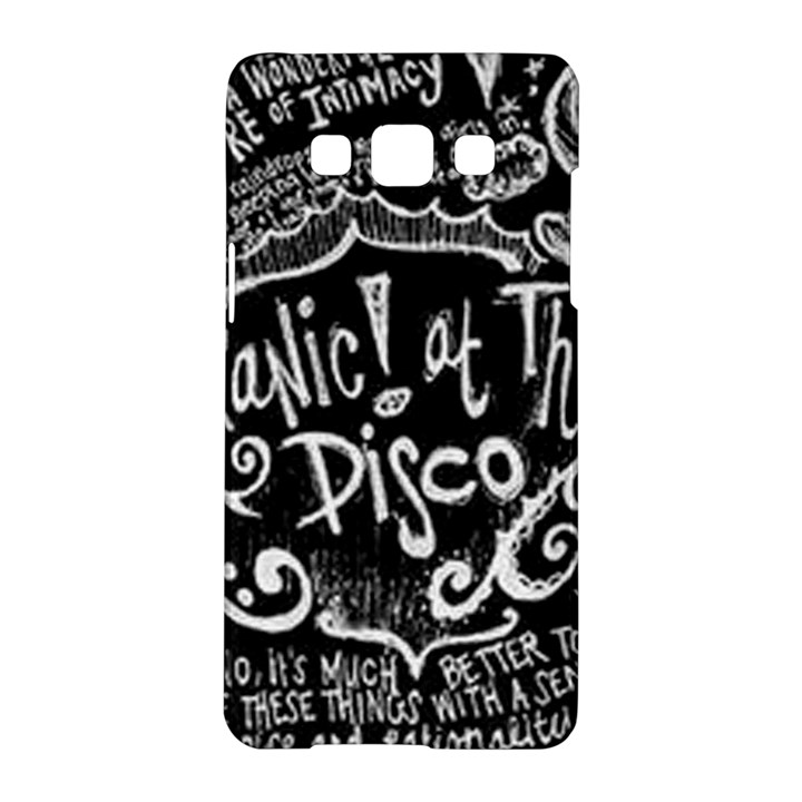 Panic ! At The Disco Lyric Quotes Samsung Galaxy A5 Hardshell Case
