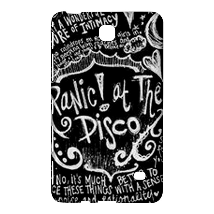 Panic ! At The Disco Lyric Quotes Samsung Galaxy Tab 4 (7 ) Hardshell Case