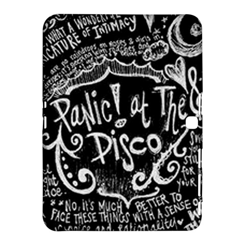 Panic ! At The Disco Lyric Quotes Samsung Galaxy Tab 4 (10.1 ) Hardshell Case