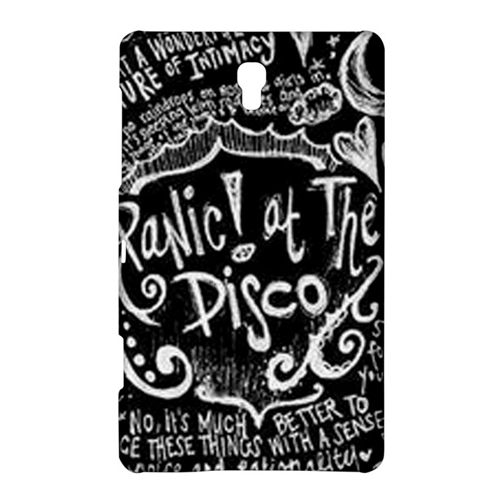 Panic ! At The Disco Lyric Quotes Samsung Galaxy Tab S (8.4 ) Hardshell Case