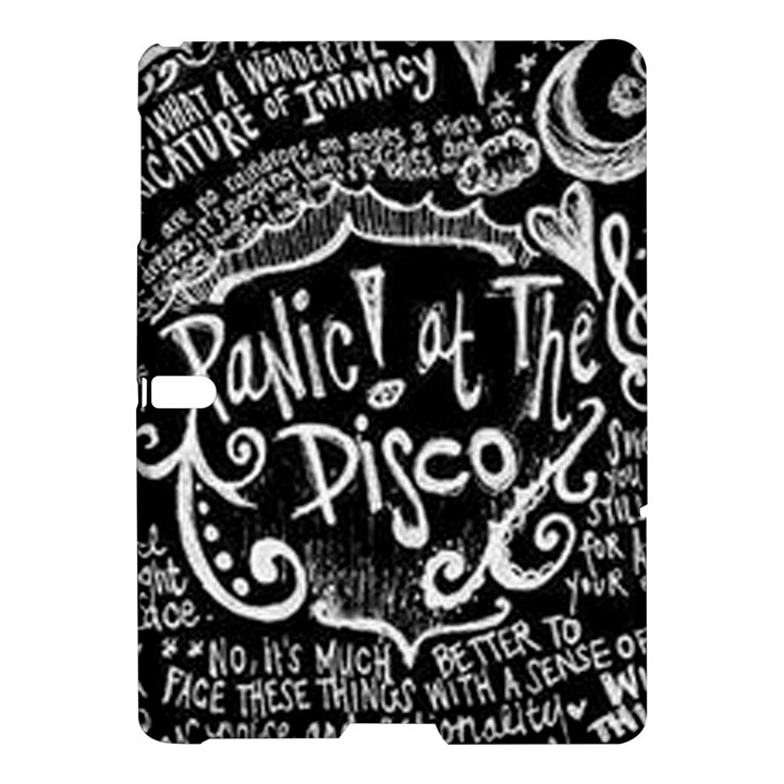 Panic ! At The Disco Lyric Quotes Samsung Galaxy Tab S (10.5 ) Hardshell Case
