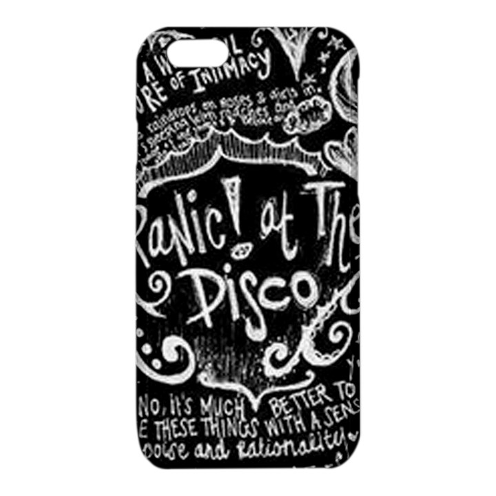 Panic ! At The Disco Lyric Quotes iPhone 6/6S TPU Case