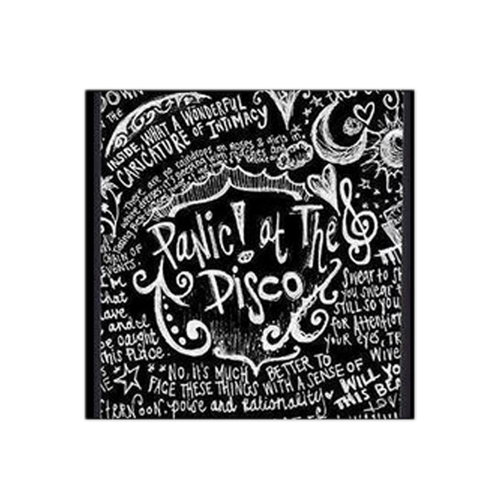 Panic ! At The Disco Lyric Quotes Satin Bandana Scarf