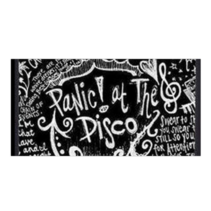 Panic ! At The Disco Lyric Quotes Satin Shawl