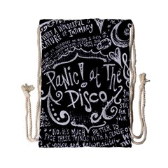 Panic ! At The Disco Lyric Quotes Drawstring Bag (Small)