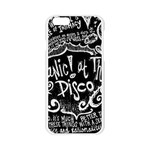 Panic ! At The Disco Lyric Quotes Apple Seamless iPhone 6/6S Case (Transparent) Front