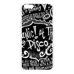 Panic ! At The Disco Lyric Quotes Apple Seamless iPhone 6 Plus/6S Plus Case (Transparent)
