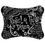Panic ! At The Disco Lyric Quotes Jigsaw Puzzle Photo Stand (Bow) Front