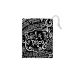 Panic ! At The Disco Lyric Quotes Drawstring Pouches (XS)  Front