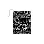 Panic ! At The Disco Lyric Quotes Drawstring Pouches (XS)  Back
