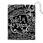 Panic ! At The Disco Lyric Quotes Drawstring Pouches (XXL) Front