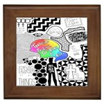 Panic ! At The Disco Framed Tiles Front