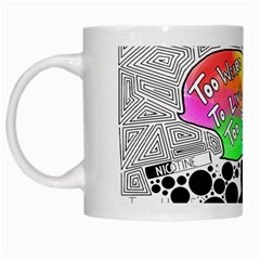 Panic ! At The Disco White Mugs