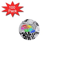 Panic ! At The Disco 1  Mini Buttons (100 pack)