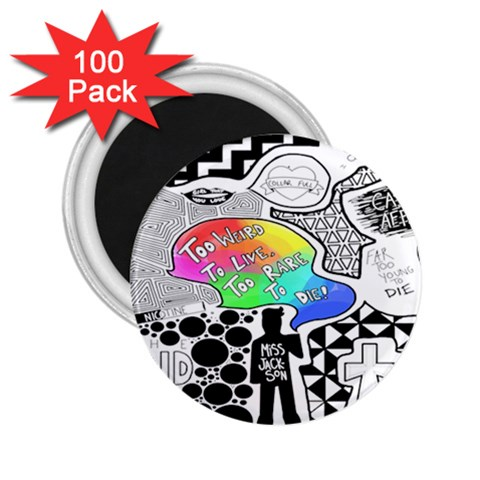 Panic ! At The Disco 2.25  Magnets (100 pack)