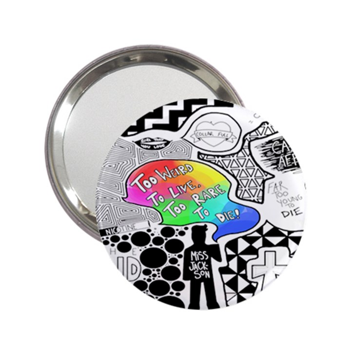 Panic ! At The Disco 2.25  Handbag Mirrors