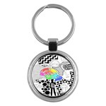 Panic ! At The Disco Key Chains (Round)  Front