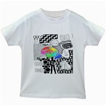 Panic ! At The Disco Kids White T-Shirts Front