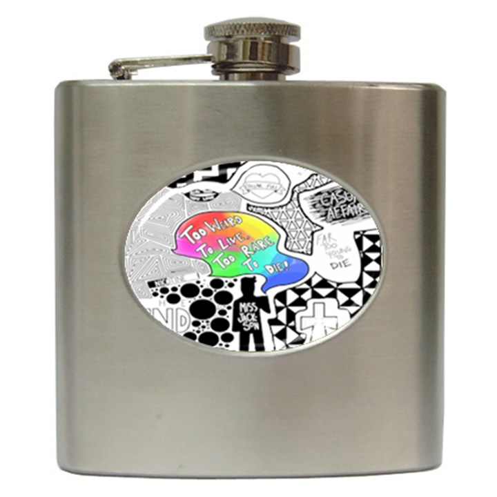 Panic ! At The Disco Hip Flask (6 oz)