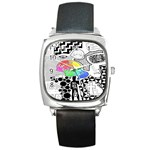 Panic ! At The Disco Square Metal Watch Front