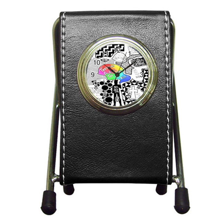 Panic ! At The Disco Pen Holder Desk Clocks