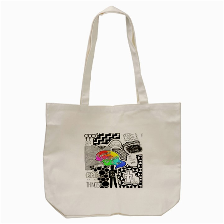 Panic ! At The Disco Tote Bag (Cream)